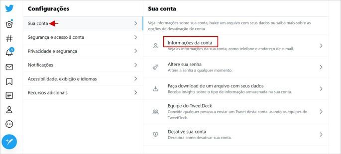 Como mudar o nome de usuário do Twitter