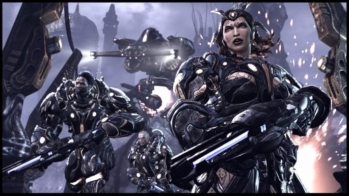 Imagem de divulgação do jogo de tiro Unreal Tournament 3