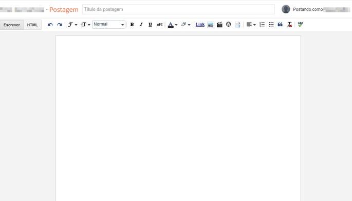 Como criar blog