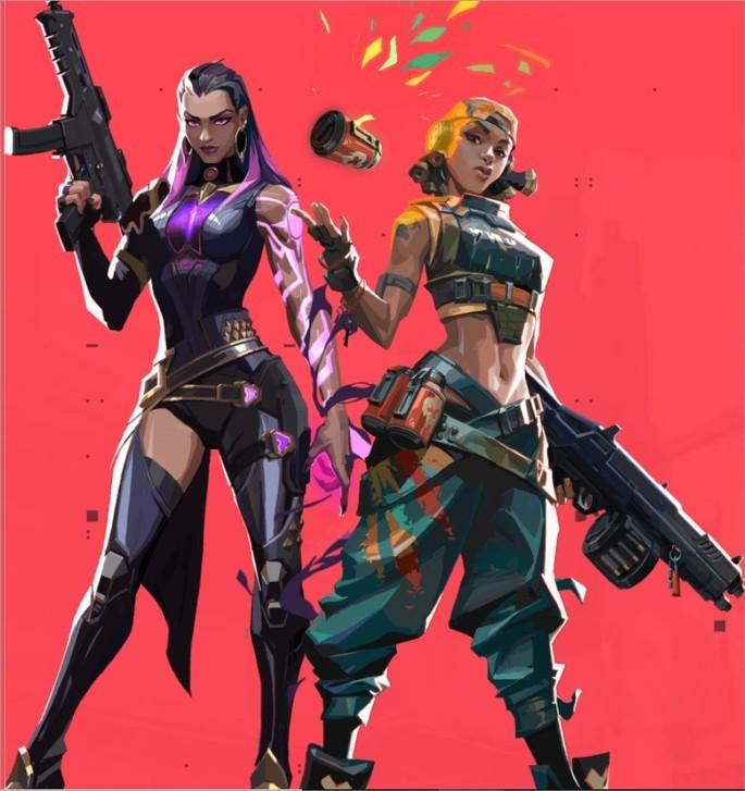 Imagem de divulgaçao do jogo de tiro Valorant