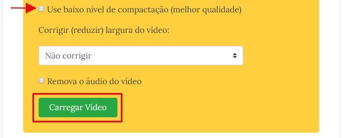 reduzir tamanho de vídeo