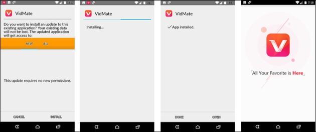 Baixar vídeos no celular Android com o VidMate