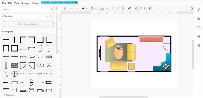 Editor de imagens do site Visual Paradigm