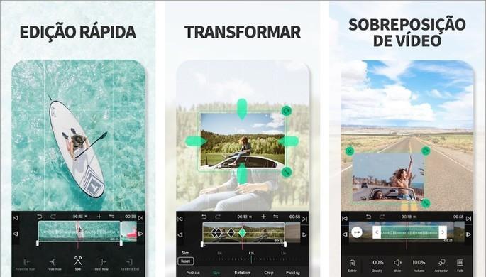 Imagem de divulgação do app de edição de imagens VLLO