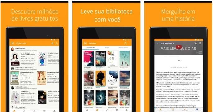 Imagem de divulgação do app de livros Wattpad