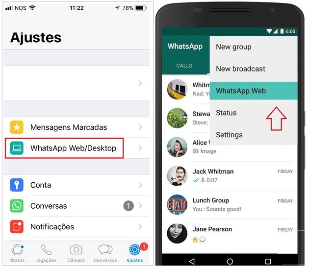 whatsapp pc mac