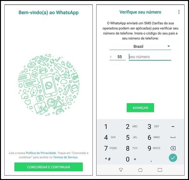 Configuração do WhatsApp