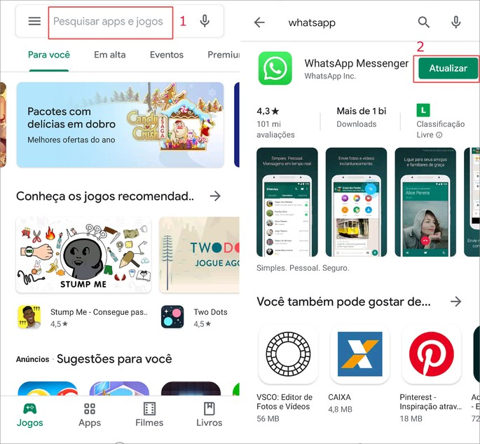 Como Atualizar o WhatsaApp