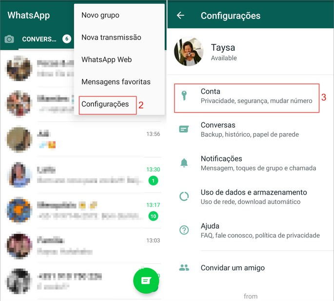 Como saber se o Whatsapp foi clonado