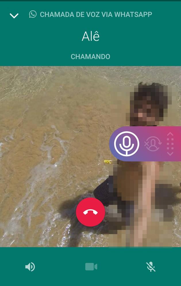 como gravar ligações por voz e chamadas de vídeo do Whatsapp