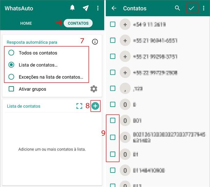 Whatsapp resposta automática
