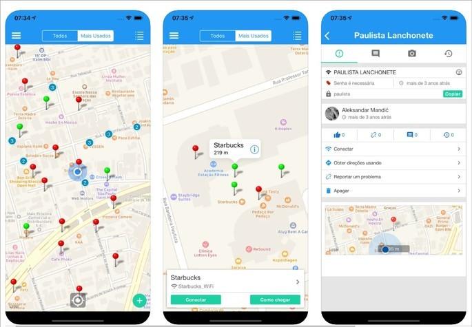 App de compartilhamento de senhas de Wi-Fi WiFi Magic