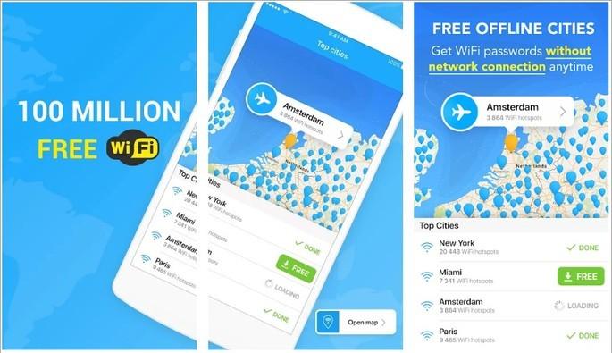 Descobrir a senha do Wi-Fi com o app WiFi Map