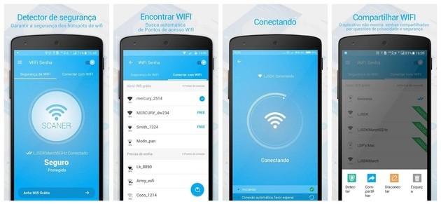 Descobrir senha de WiFi com o WiFi Senha