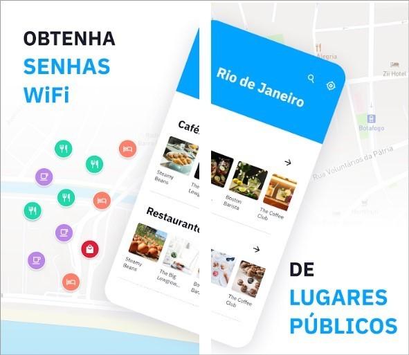 App de compartilhamento de senha de WiFi Wiman