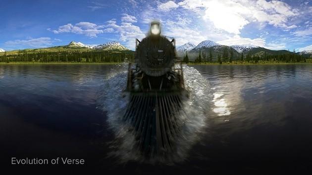 Realidade virtual VR com o Within