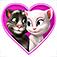 Imagem do aplicativo Cartas de amor do Talking Tom