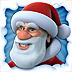 Imagem do aplicativo Papai Noel Falante para iPad (Talking Santa)