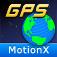 Imagem do aplicativo MotionX GPS