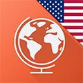 Imagem do aplicativo Aprenda Inglês Americano Grátis com Mondly: Curso de conversação para aprender a falar um idioma com lições de vocabulário e áudio de frases para viagens trabalho escola o negócio