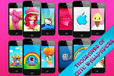 Imagem do aplicativo Cute Wallpapers ™