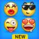 Imagem do aplicativo +5000 Emoji Novo - 3D Animados Teclado Emoticons Grátis