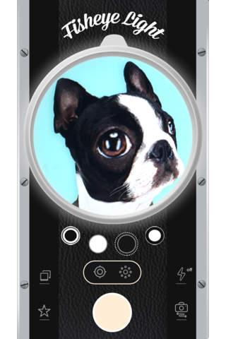 Imagem do aplicativo Fisheye Camera - Free Fisheye Camera with vintage light, Cool Fisheye Lens and lomo len