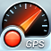 Imagem do aplicativo Speed Tracker Free. O Velocímetro GPS, projetor HUD e Computador de Bordo