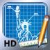Imagem do aplicativo Blueprint 3D HD