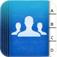 Imagem do aplicativo Simpler Contacts Pro - Gerenciador da agenda de endereços inteligente para as contas do iCloud, Gmail, Yahoo & Outlook contatos