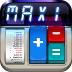 Imagem do aplicativo Calculadora MaxiCalc Pro: com LCD Retro, Fita de papel vintage dos anos 80, Memória, Básica e Científica para iPad Retina HD