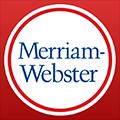 Imagem do aplicativo Merriam-Webster Dictionary
