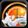 Imagem do aplicativo eWeather HD: Previsão do tempo para 10 dias a temperatura na tela inicial