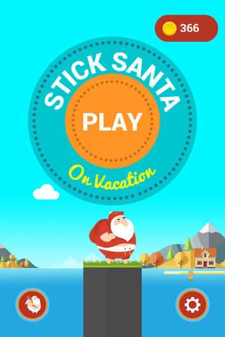 Imagem do aplicativo Stick Santa